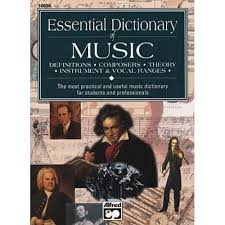 essential dicitonary of music