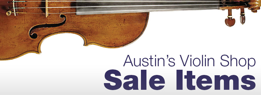Austins Violin Shop Sale Items